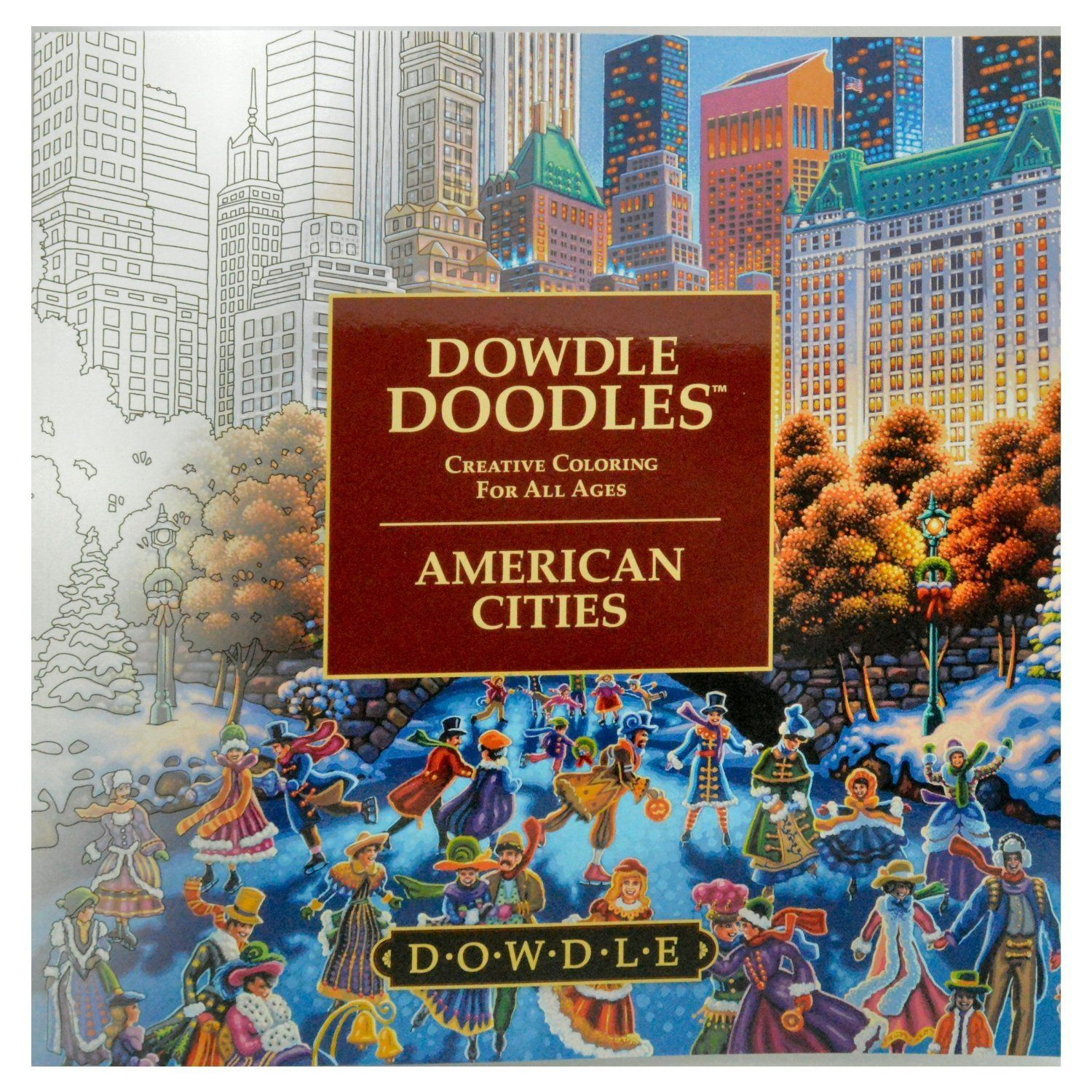 Amazon.com: Dowdle Doodles - Adult and Family Coloring Book ...