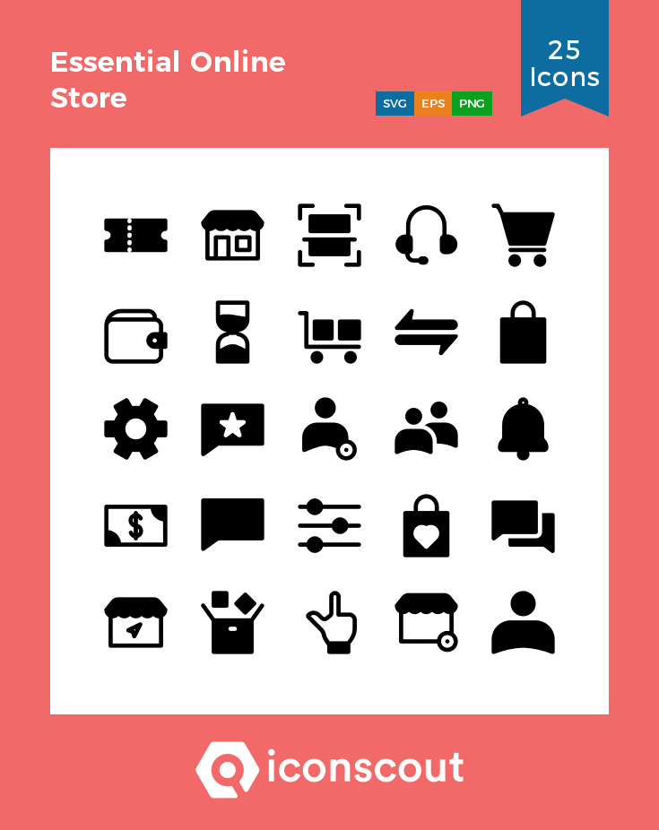 Download Essential Online Store Icon Pack Available In Svg Png Eps Ai Icon Fonts Icon Pack Icon Glyph Icon