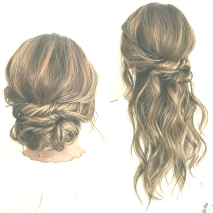wasserfall frisur für lange haare, die restlichen haare