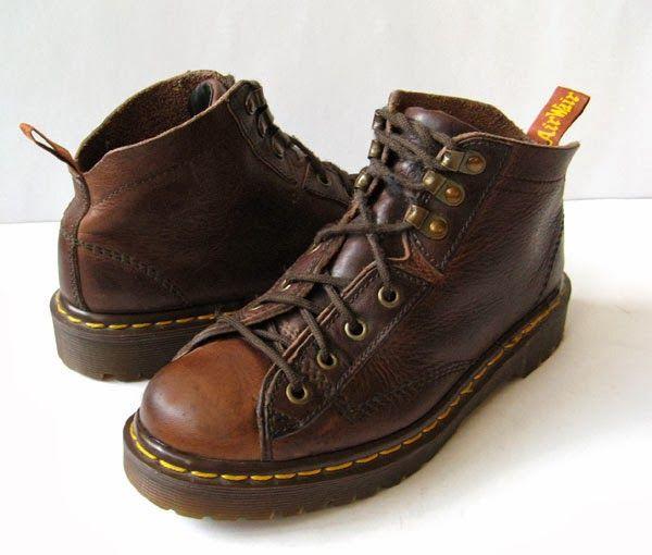 19eec61c344 brown vintage doc martens