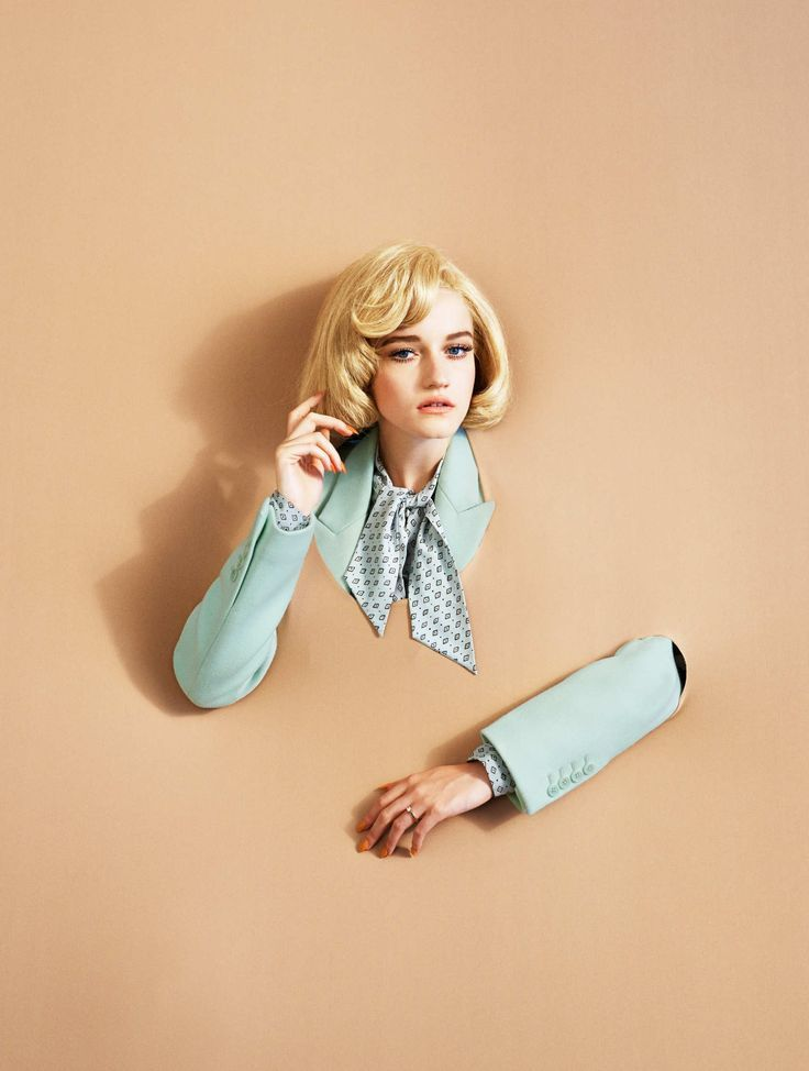 """Personalized Photo Charms Compatible with Pandora Bracelets. Titled """"Modern Living,"""" Alex Prager's editorial features actress Julia Garner and has a bit of a Surrealist feel to it — complete with errant body parts."""