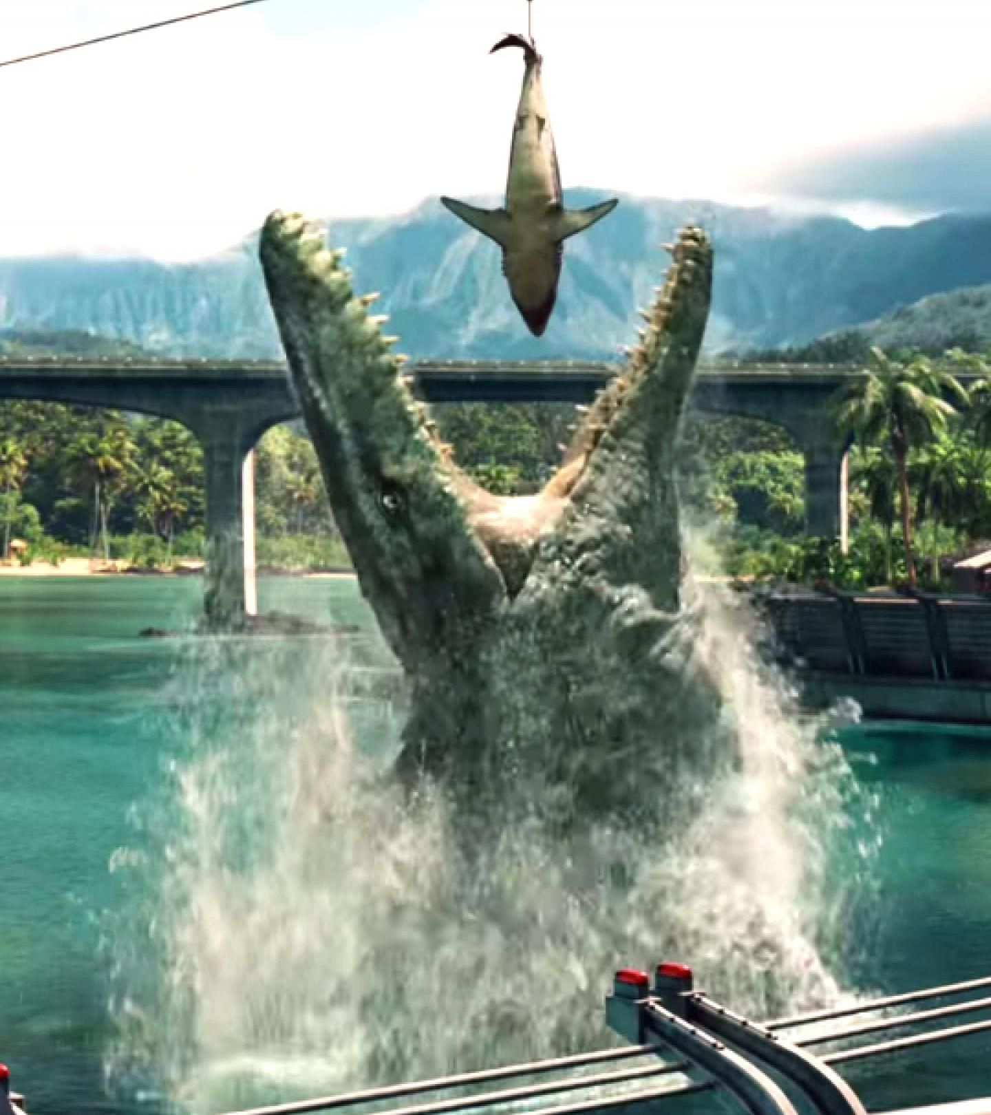 Mosasaurus jumping out of water to eat shark en 2019 ...