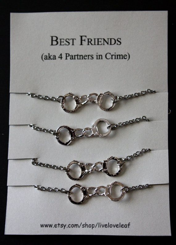 Femlush Best Friends 4 Ever Four Matching Bracelets For By Liveloveleaf More