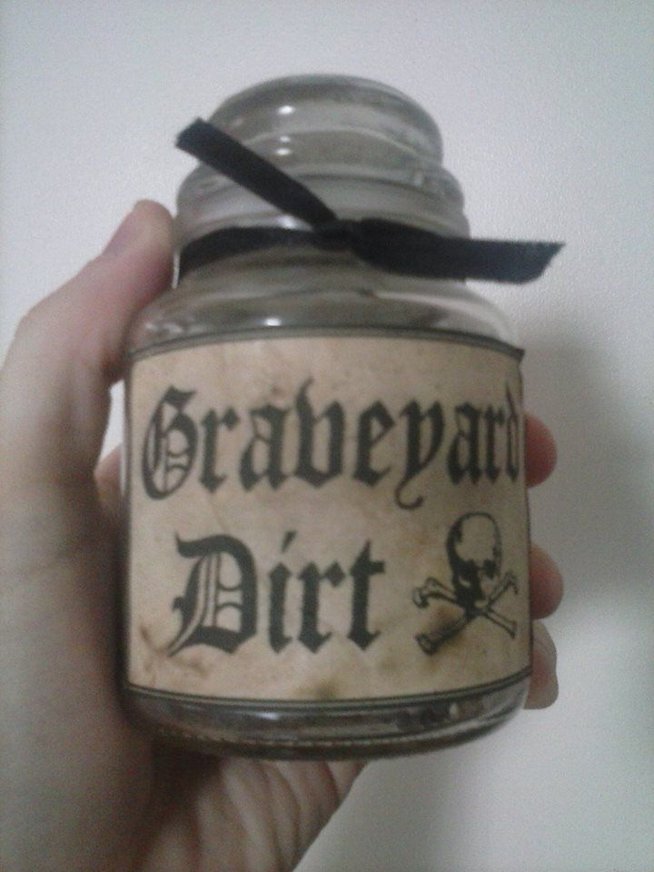 Graveyard dirt spell component just used dry potting