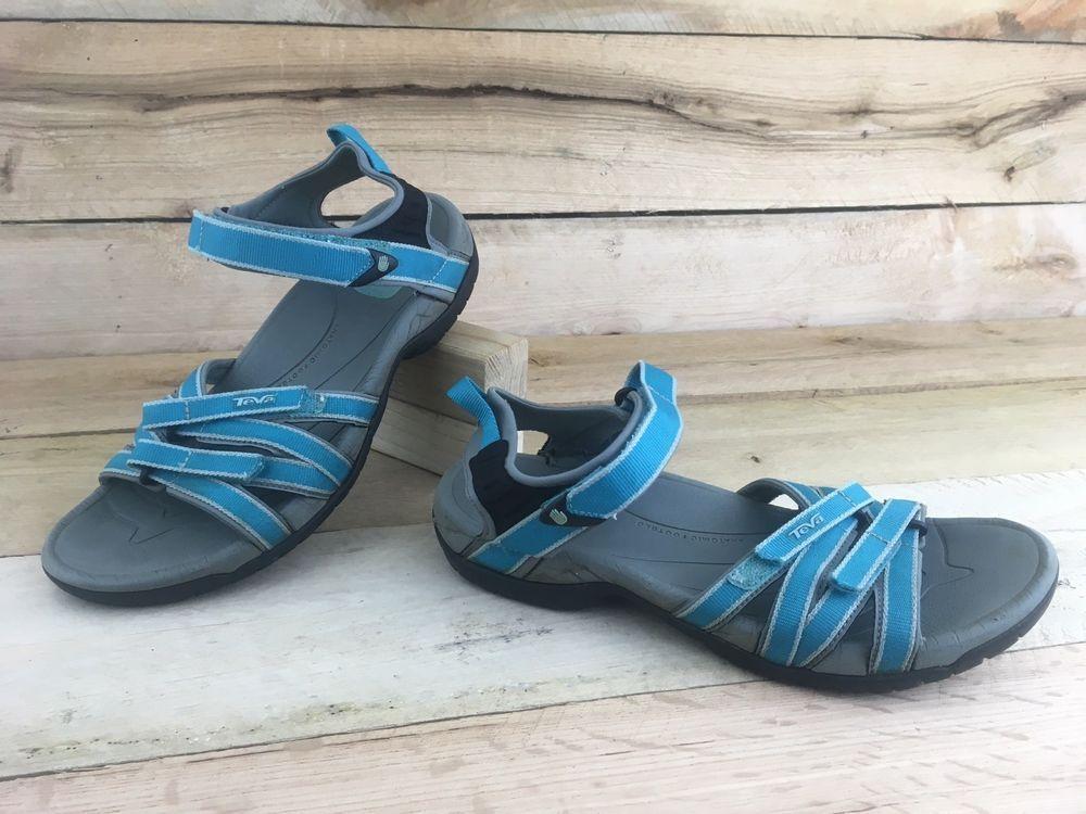 a29af7bcd539 Teva Womens Shoe Sz 9.5 US 40.5 EUR Tirra Teal Gray Sport Slingback Sandals  4266  fashion  clothing  shoes  accessories  womensshoes  sandals (ebay link )