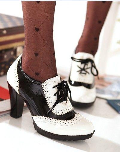 Zapatos vintage para mujer rkJZb