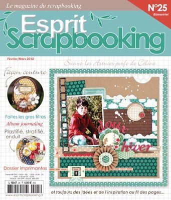 Blog Of The Magazine Esprit Scrapbooking French Scrapbooking
