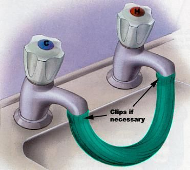 Airlock Clearing Instructions Picture Water Pipes