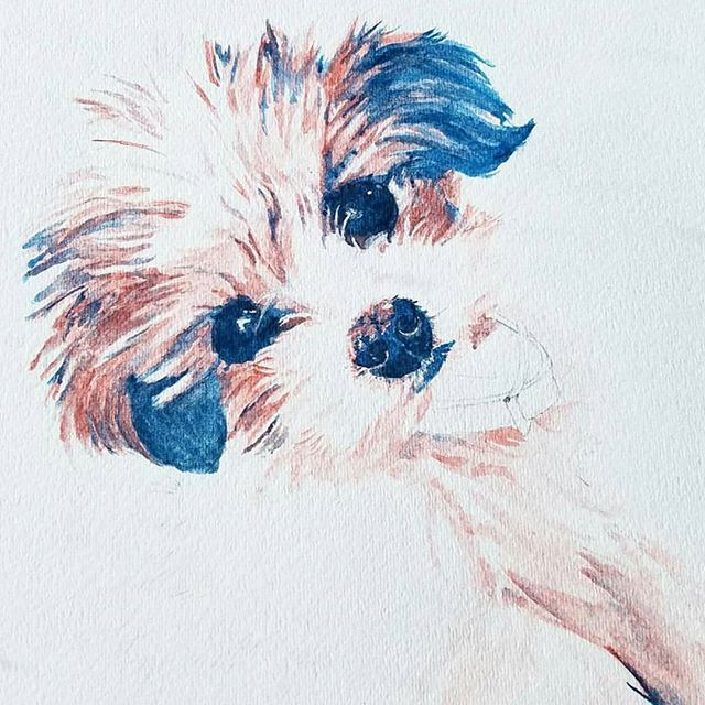 Happy #woofwednesday y'all 🐶 And what better way to celebrate this day than with this #pawesome painting from Texas-maker @ellieblittle (📷 credit) located in Fort Worth, Texas💖 You definitely have to checkout her work💃Super duper cool😎 I wish I  could draw/paint😯 Oh, well. ITS ALL GOOD🤓 Do you have a #furbaby 🙋 What's their name,✌🍃 . . . . #supporthandmade #petlove #thatsdarling #petitejoys #dogsofinstagram #coolbeansbox  #subscriptionbox #giftbox #petphotography #supportlocal…