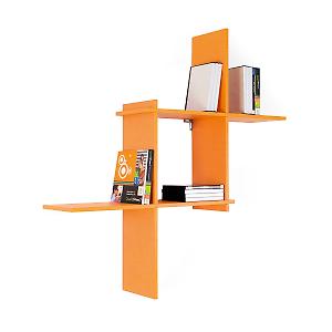 Mensole Moderne Leroy Merlin.Leroy Merlin Mensola Modulo Arancione 70 X 21 Cm Mensole Decor
