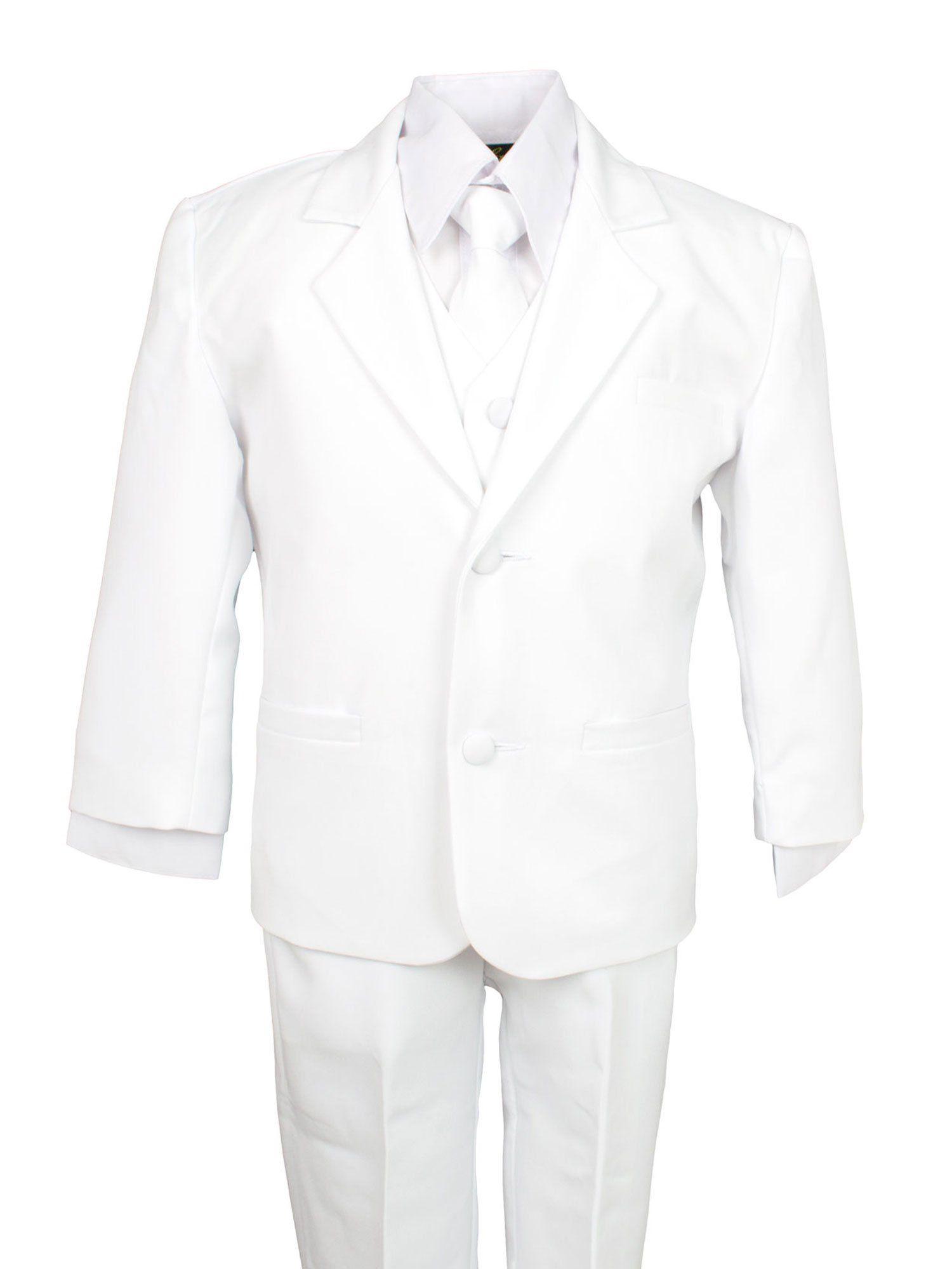 Spring Notion Baby Boys Formal White Dress Suit Set