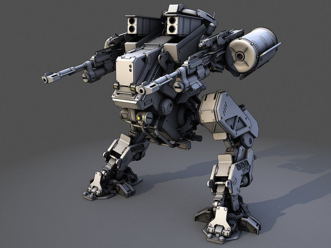 robot 3d model | Mechs in 2019 | Robot design, Robot, Robots