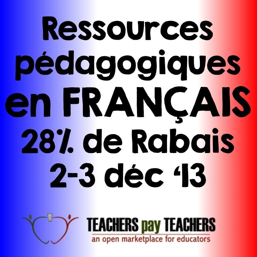 Ressources FRANÇAIS sur TpT  http://portail.educationetformation.fr/opdotnet/eplug/portail/PortailDefault.aspx?intIdPageCourante=P20091109T121913&intIdGroupe=11&portail=1&Profils=&Mode=0&groupe=11