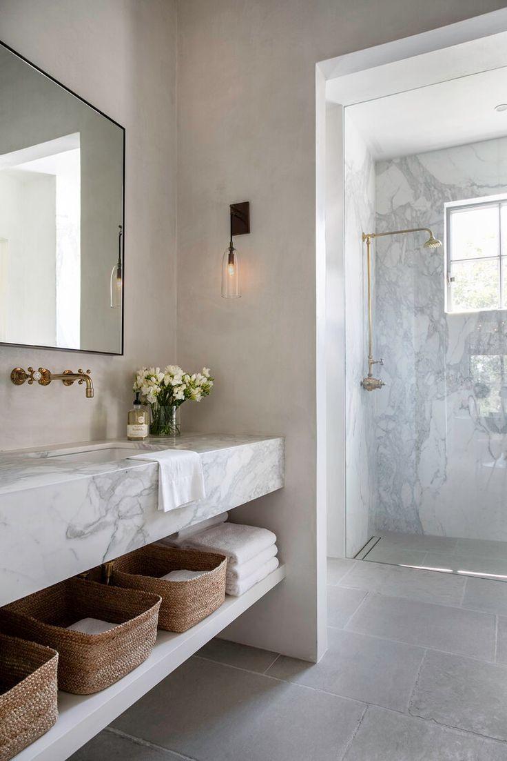 Modern Marble Bathroom Interior Design