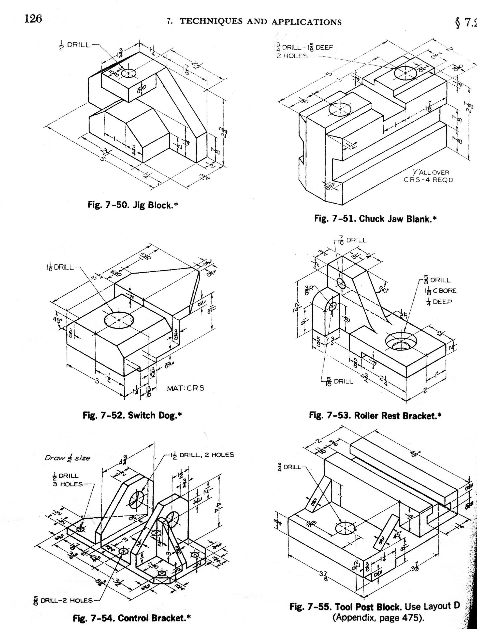 Sample Of Isometric Drawing Projection Drawing Worksheet