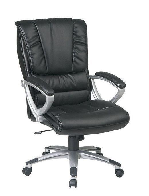 office star executive high back black eco leather chair ech67106 ec3 rh pinterest com