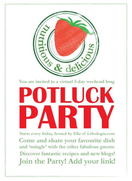 How to Host an Allergy-Friendly Potluck Potlucks, Pot luck and - invitation wording for christmas dinner party
