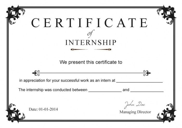 Internship certificate templates free internship tips and advice internship certificate templates free thecheapjerseys Images