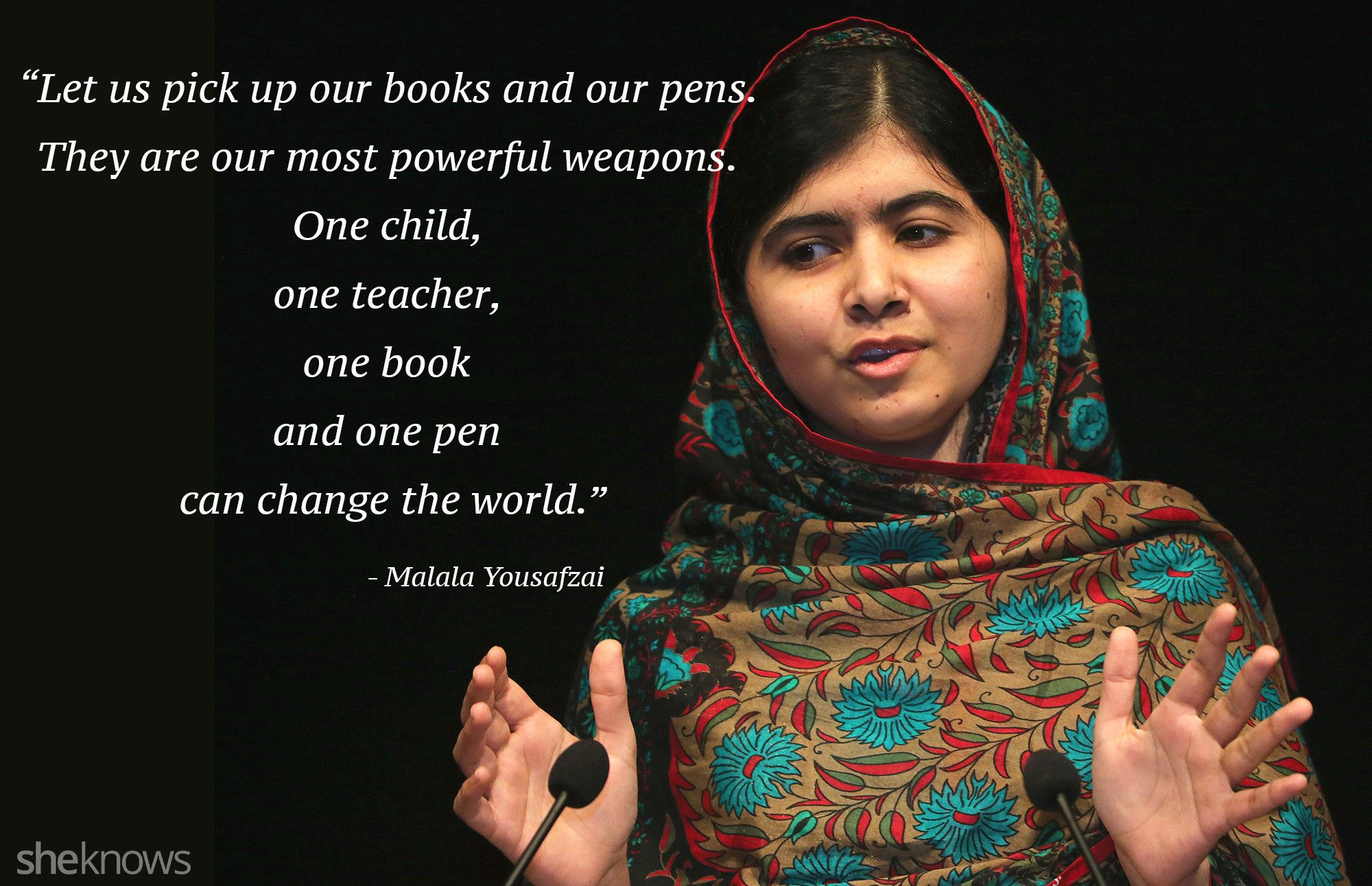 Malala Quotes 13 Malala Yousafzai Quotes That Inspire Us To Be Better  Pinterest