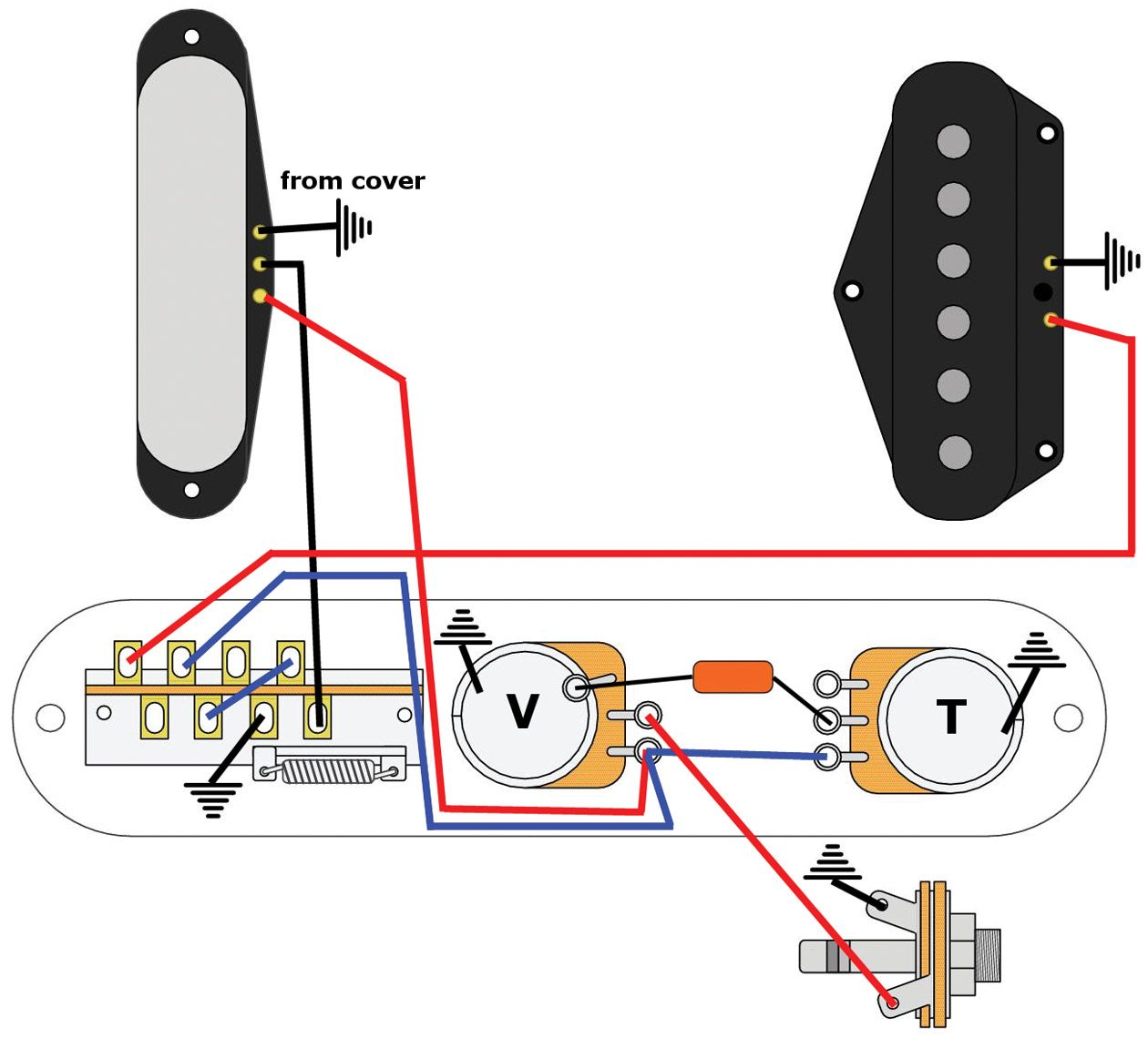 Pleasant Premier Guitar Wiring Diagram Basic Electronics Wiring Diagram Wiring Database Heeveyuccorg