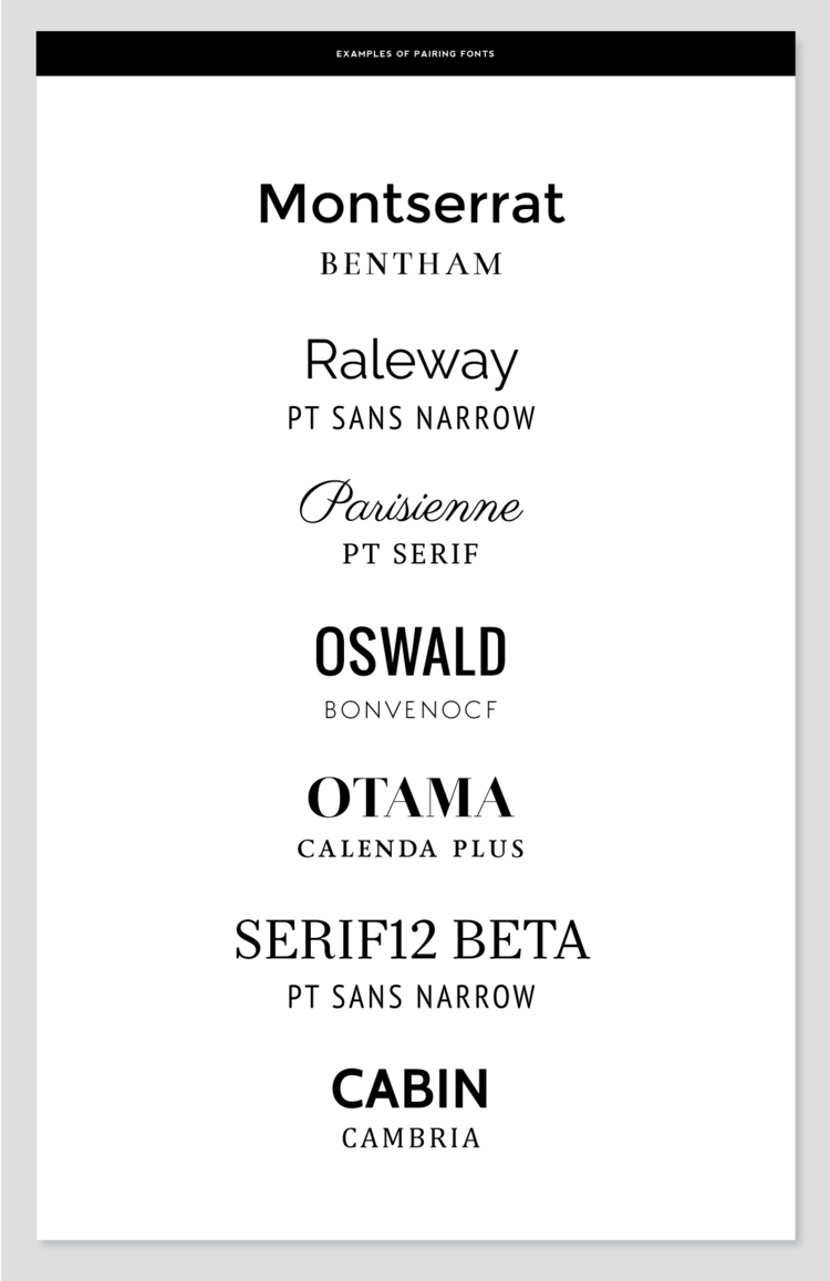 Front Pairing Samples | Cv | Pinterest | Fonts, Typography and Font ...