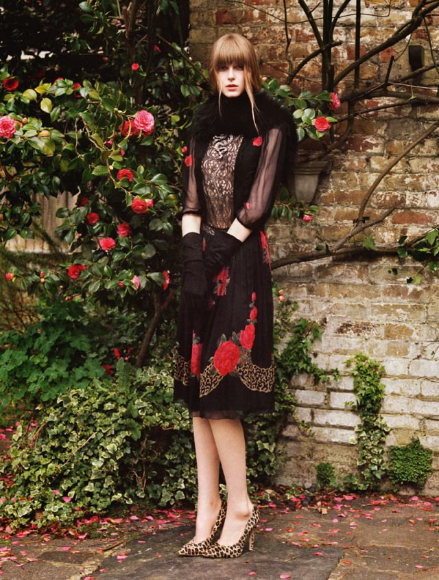 Jemma Baines Enchants in Blugirl Fall 2013 Campaign | Fashion Gone Rogue: The Latest in Editorials and Campaigns