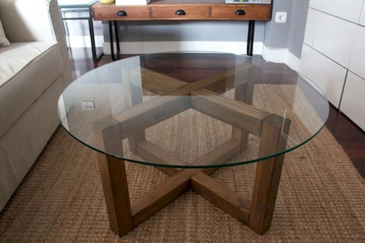 20 Best Cheap Diy Coffee Table Ideas Round Glass Coffee Table