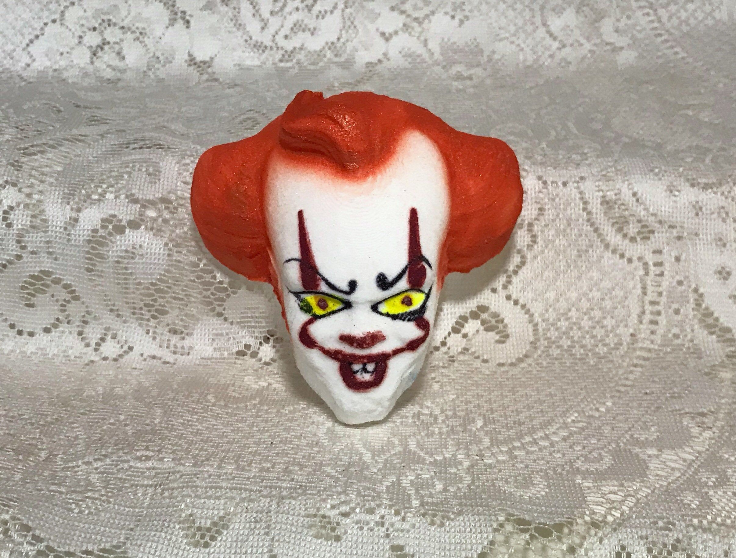 Excited To Share The Latest Addition To My Etsy Shop Clown Penny Horror Bathbombs Bath Bomb Gothic In 2020 Halloween Bath Bombs Wine Bottle Diy Crafts Bath Bombs