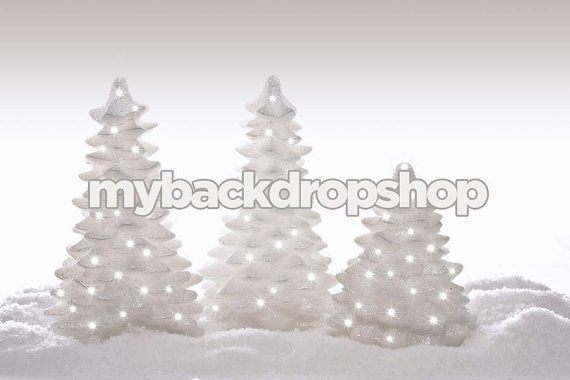 7ft x 5ft Christmas Tree Background for Portrait by MyBackdropShop