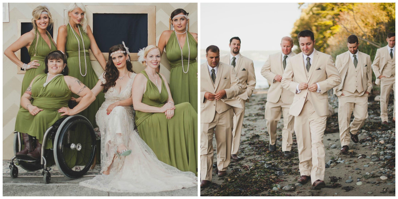 Maggie sottero wedding dress great gatsby inspired wedding diy