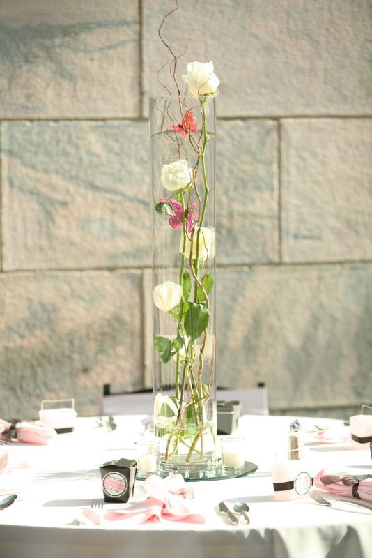 i like all the fun things you cab do with tall cylindrical vases rh pinterest com