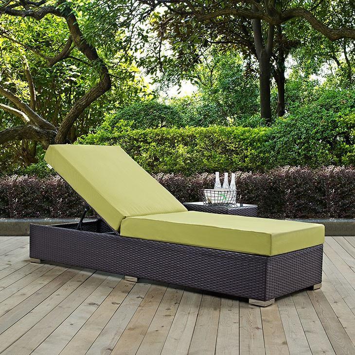 modway furniture modern convene outdoor patio chaise lounge eei 1846 rh pinterest com