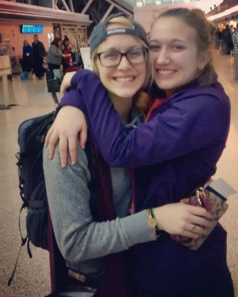 Today I had to say goodbye to not only my sister but my bestfriend. Have fun doing God's work Lyss I love you  #YWAM #Guatemala by abbeycole11 http://bit.ly/dtskyiv #ywamkyiv #ywam #mission #missiontrip #outreach