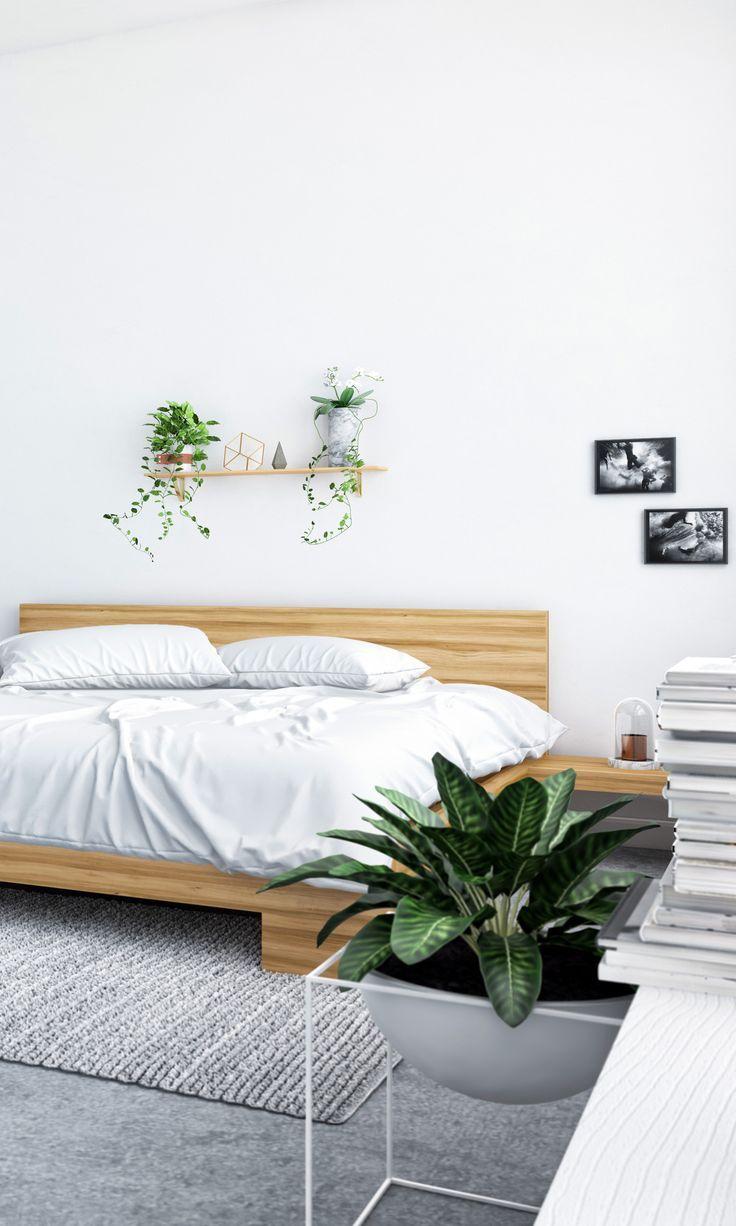 Resultado de imagen de minimalist bedroom with