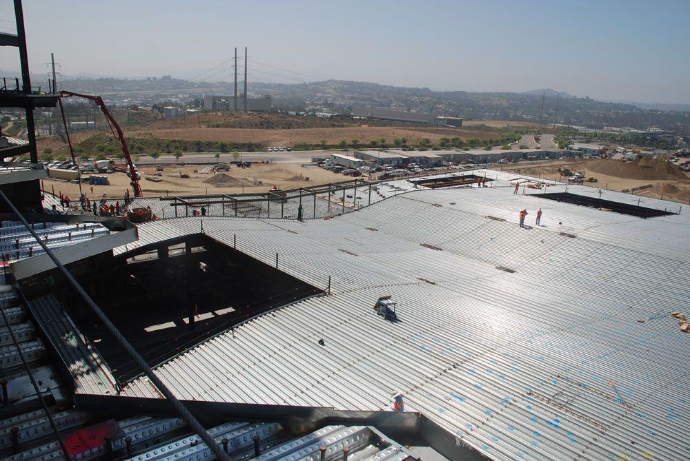 Project Palomar Medical Center Escondido Location Escondido Ca Products 3wh 36 Steel Roof Floor Deck Projects Asc Stee Deck Projects Deck Steel Deck