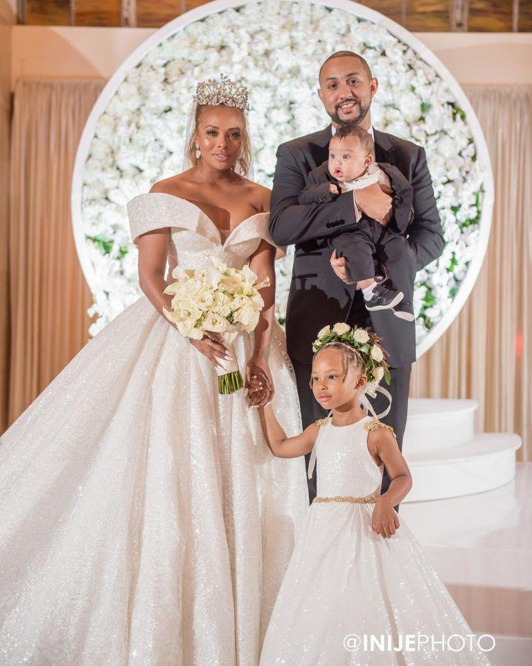 real housewives of atlanta s eva marcille marries michael sterling rh pinterest com