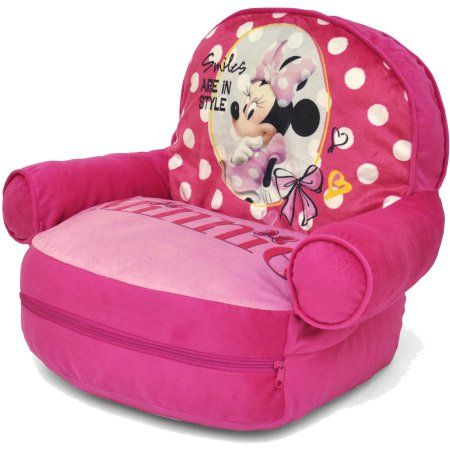 Pleasing Disney Minnie Mouse Bean Bag With Bonus Slumber Bag Ocoug Best Dining Table And Chair Ideas Images Ocougorg
