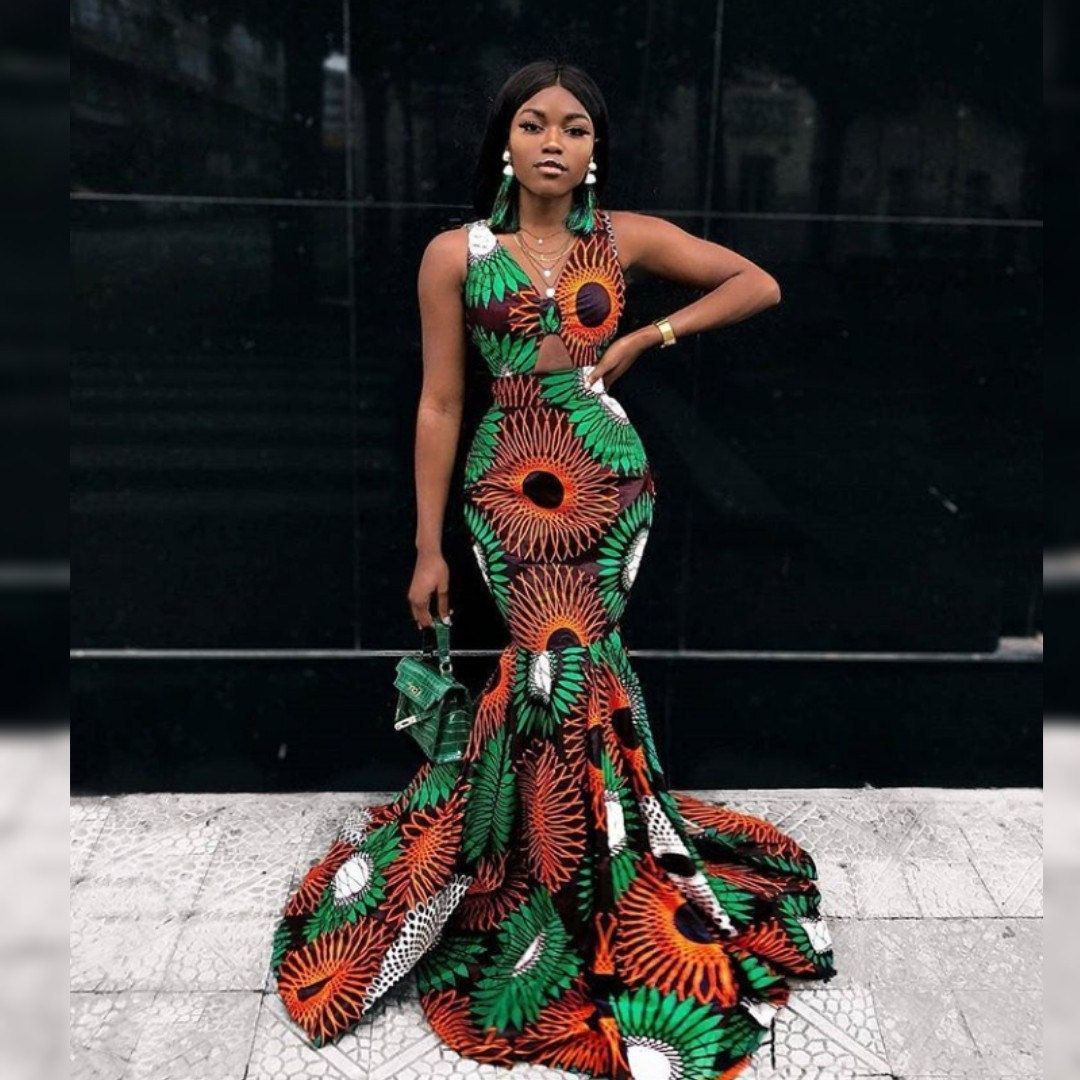 Custom-made Outfits: African Outfits for your events. Ankara, Kitenge, Dashiki, Kente, Aso-Oke, African wax prints, Dutch Wax prints #africanfashionankara