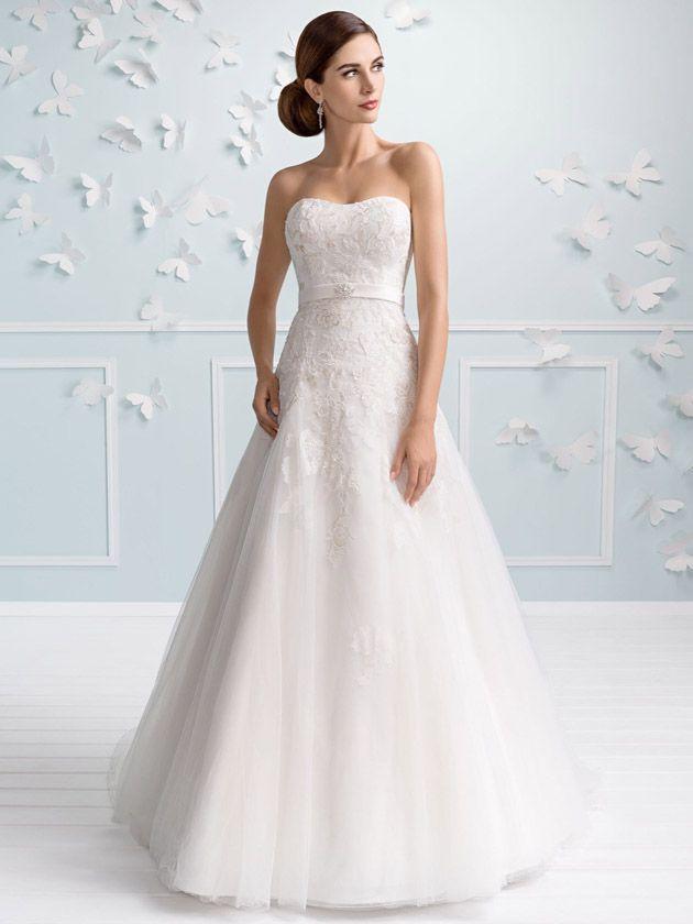 Brautkleider im gehobenen Preissegment | miss solution Bildergalerie - Modell E-3201T by ELIZABETH PASSION