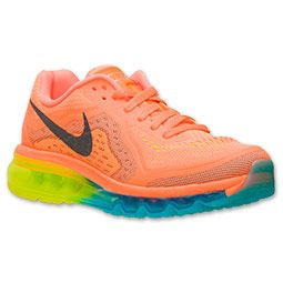 low priced ba96a 8f467 ... coupon code for womens nike air max 2014 running shoes finishline  atomic orange black 23500 9dc7c