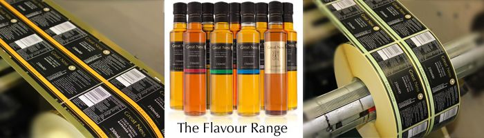 Etiquette Labels have once again printed superb bottle labels for Great Ness Oil. Grown, pressed and bottled on a Farm in the heart of the beautiful Shropshire countryside, Great Ness Oil are producers of some of the finest quality cold pressed rapeseed oil available.