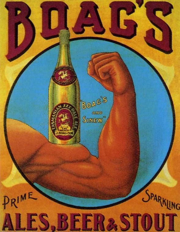 Vintage Everyday Advertising Posters Of Beer From Around The World