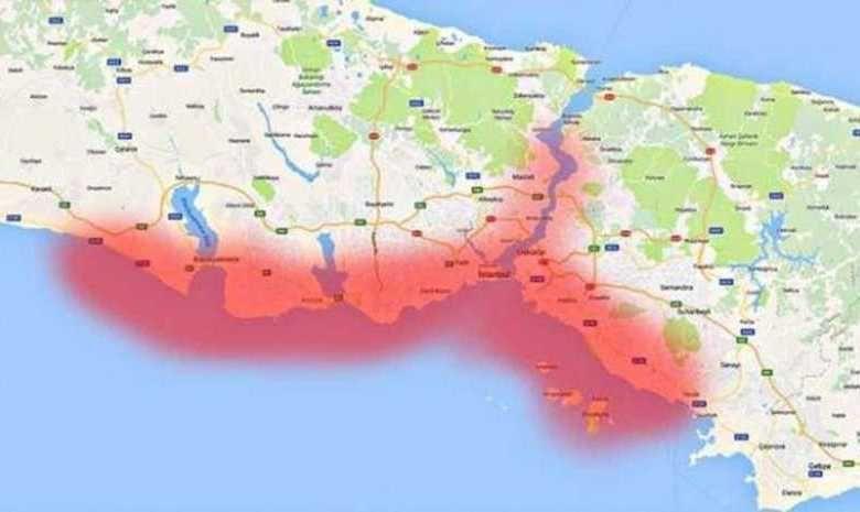 تفسير حلم الزلزال الخفيف Map World Istanbul