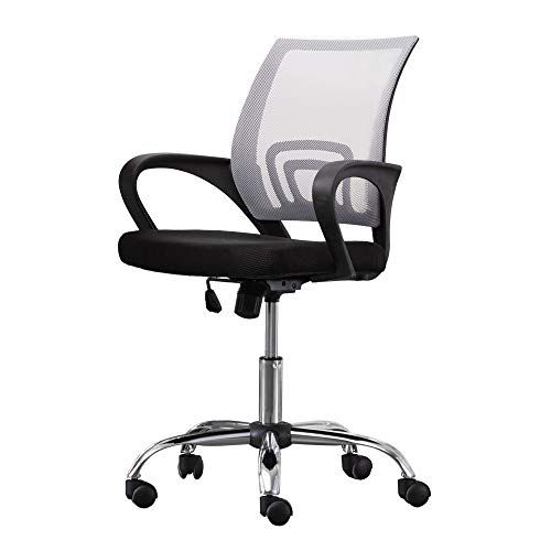 Swell Office Desk Chair With Fixed Arms Fabric Mesh One Size Ocoug Best Dining Table And Chair Ideas Images Ocougorg