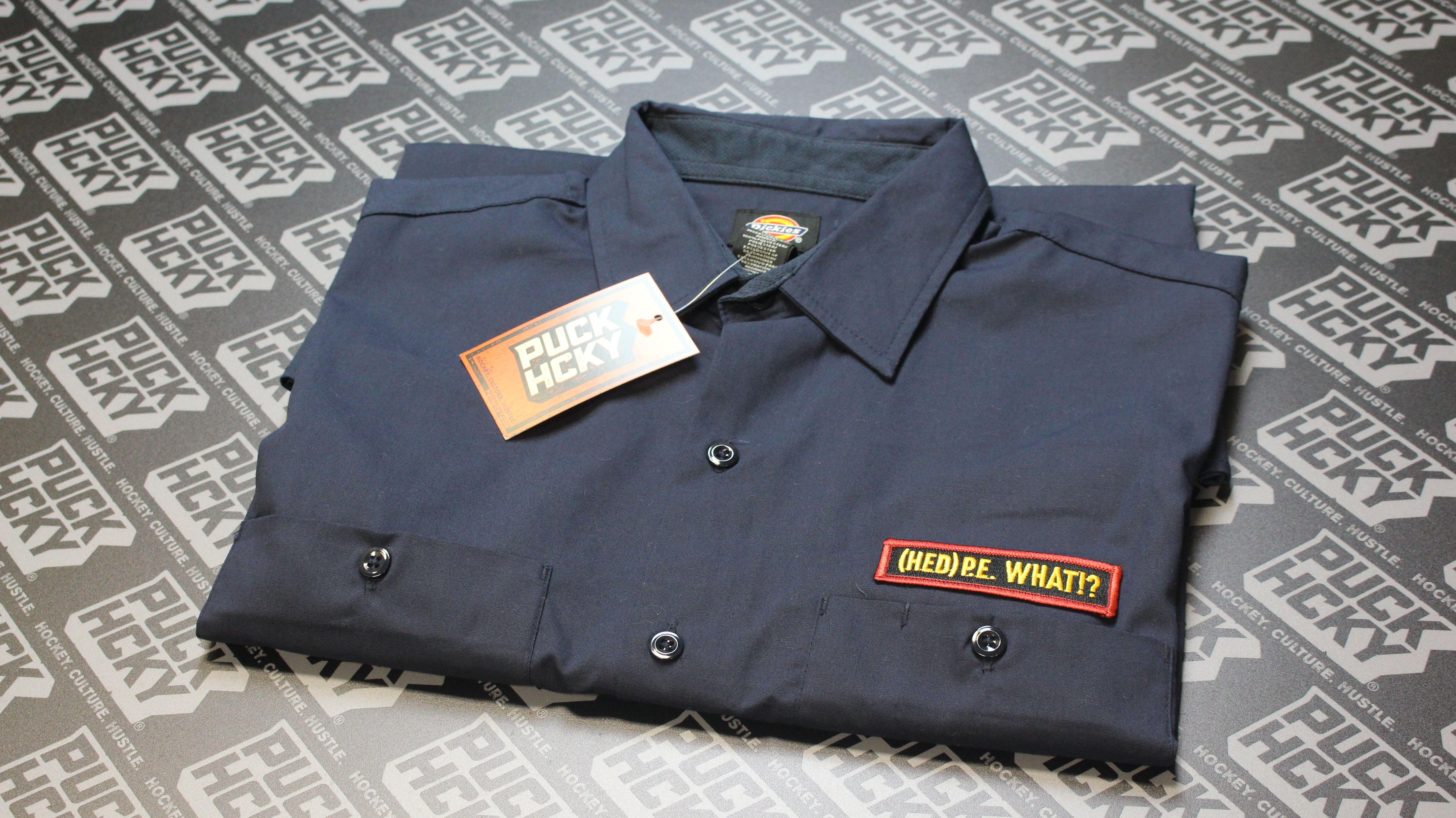 1d38e99b Dickies Work Shirt Embroidered   Top Mode Depot