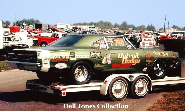 9c520914 Wally Booths Detroit Dodge Coronet Super Bee SS/E. | Super Stock ...