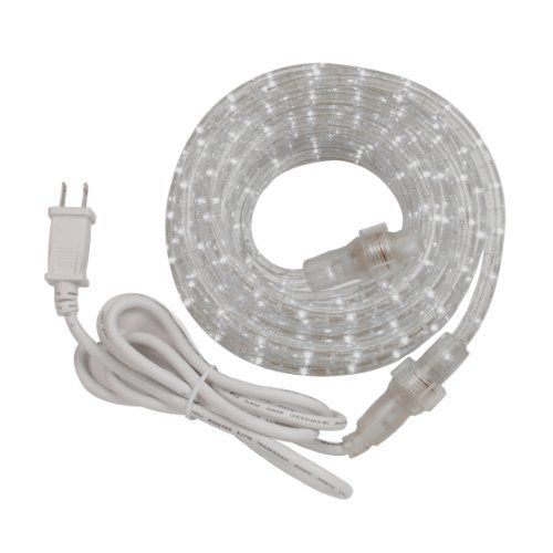 Amerelle Rw48bcc 100w Clear 48 Feet White Rope Light Kit By Amerelle 35 52 Amertac Incandescent Rope Lights Feature Flex Led Rope Lights Rope Light Led Rope