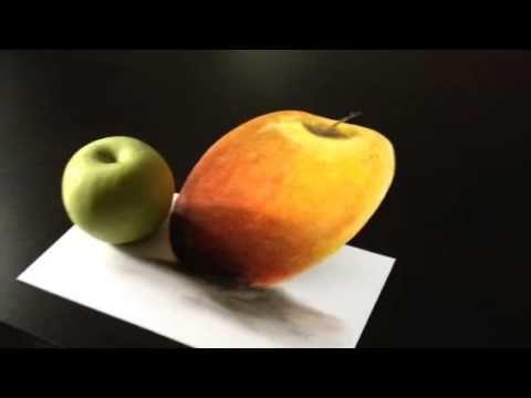 3D art. illusion painting. Eka Peradze