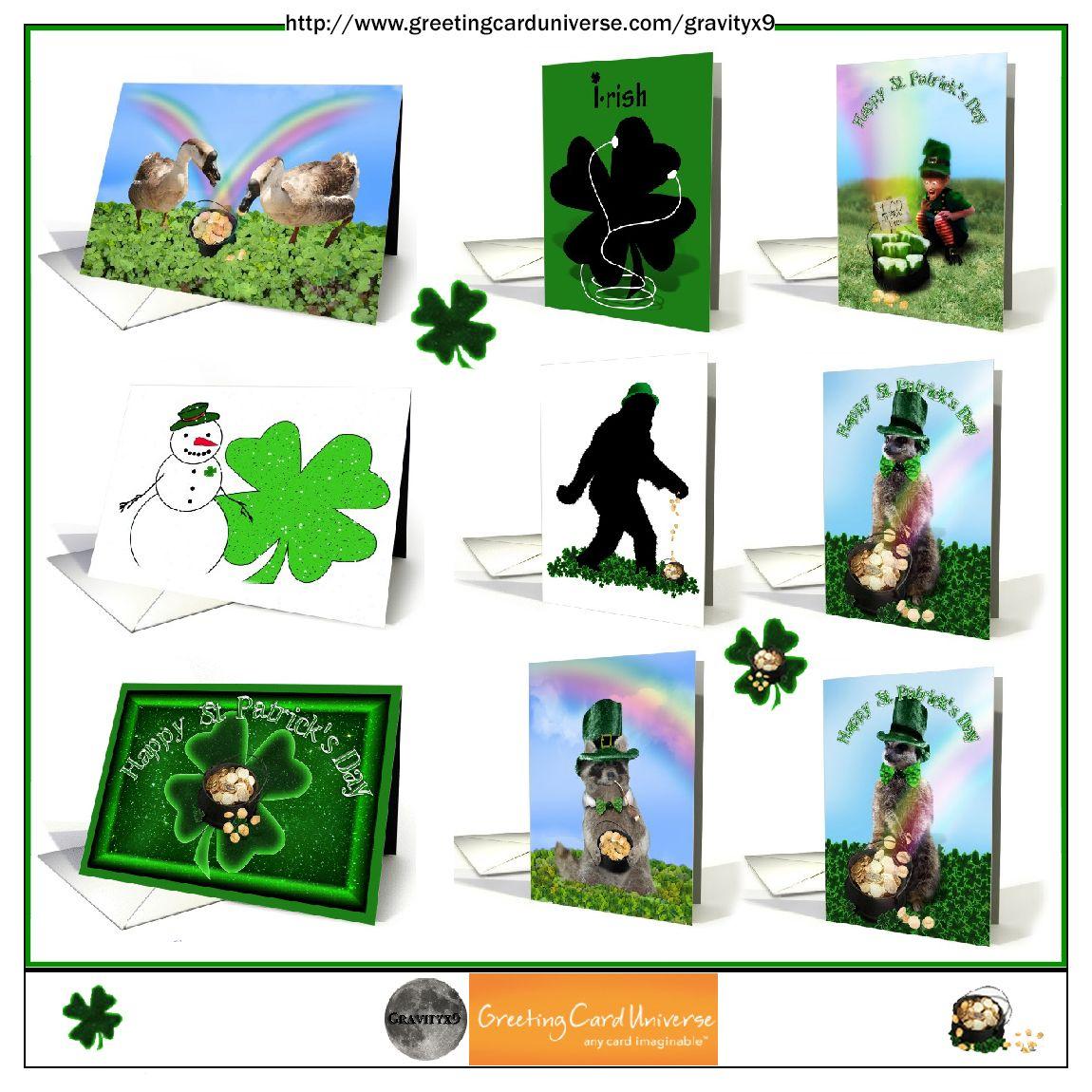 Happy St Patricks Day Cards At Greetingcarduniverse Many