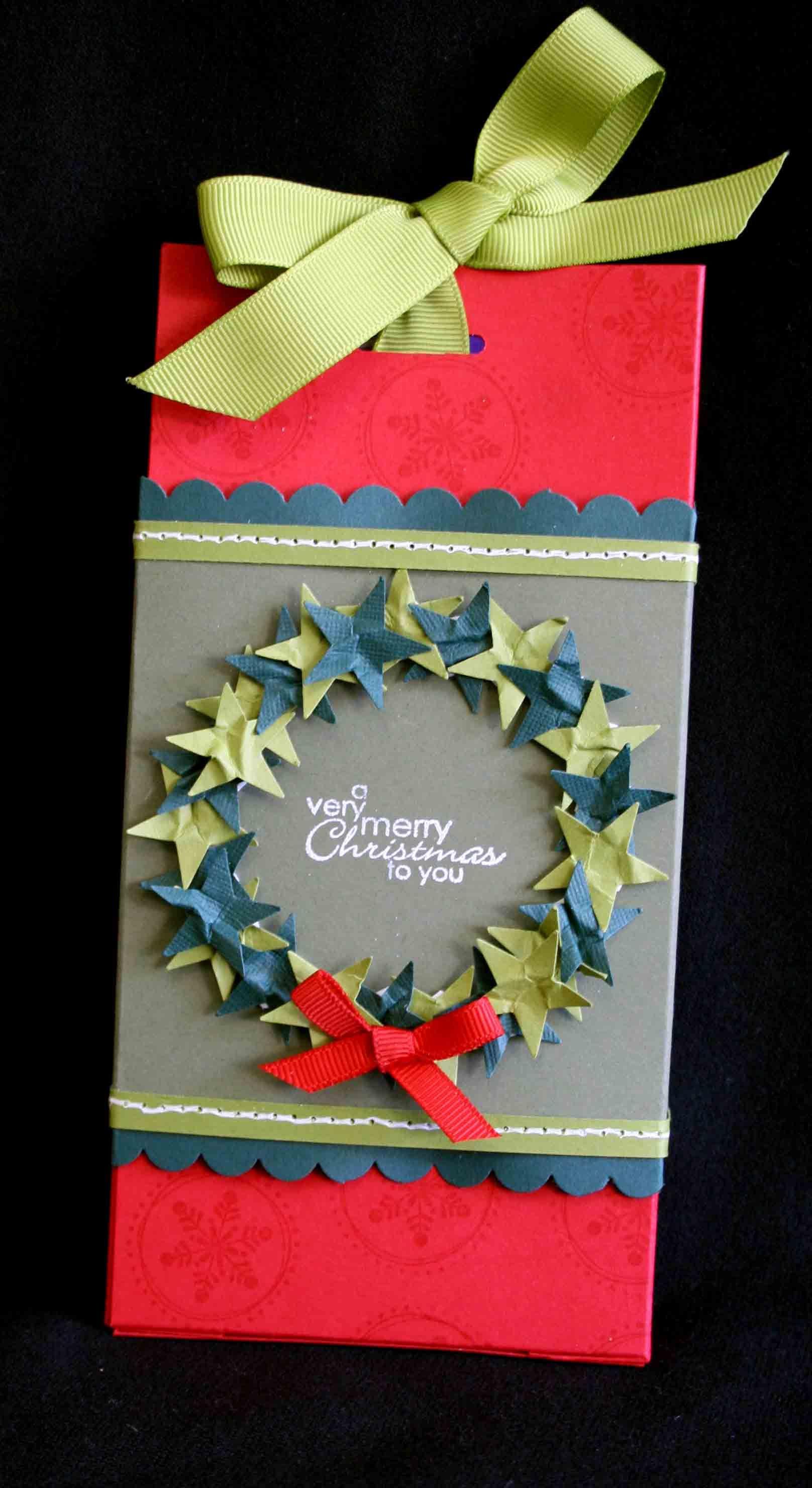 christmas treat box Christmas fair ideas, Christmas